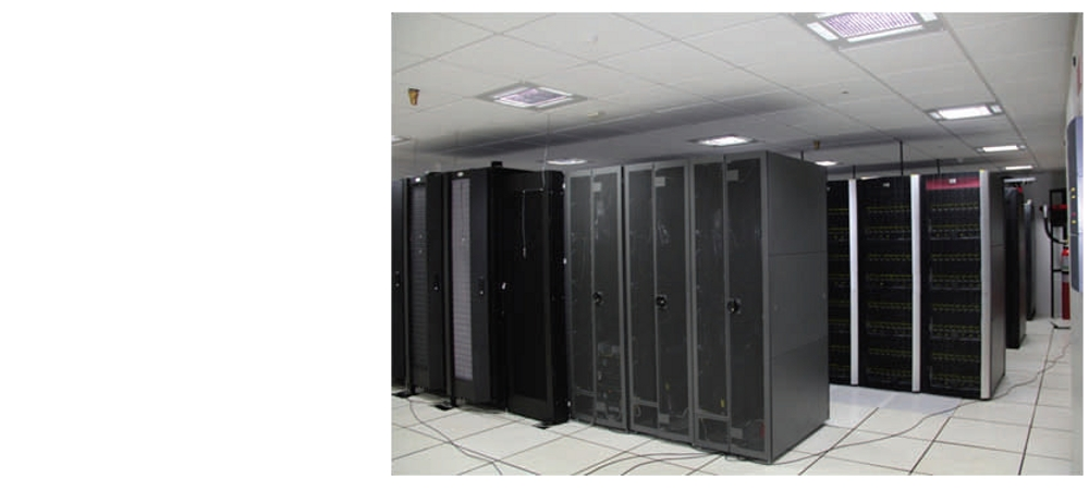 CSIR centralized 360TF High Performance Computing Facility.